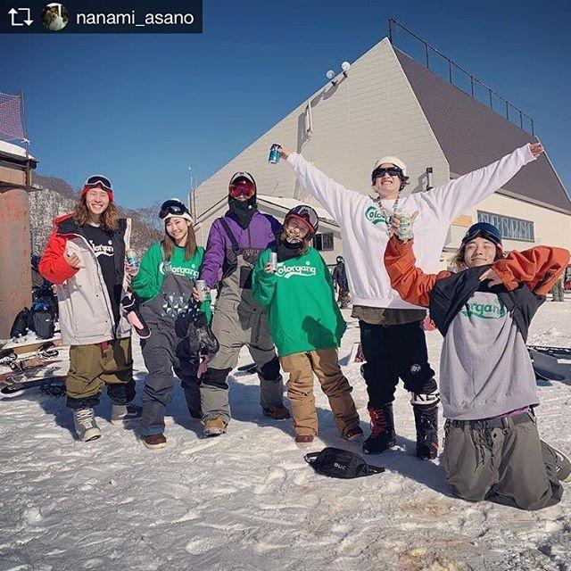 おはよーございます!11月26日(月)やってまーすよ〜!.続々とシーズンインの報告がお店も山帰りの人で溢れて、いー感じやっぱり楽しんでる人のオーラはカッコいいフラストレーション溜まります早く滑りたい笑笑.みんなも山の準備していきましょ!.今日もお待ちしてまーす!.#colorsnowboardshop #colorgang #ヨコノリスタ #イロヲ出セ #snowboardshop #宇都宮 #カラースノーボードショップ #スノーボード.Repost from @nanami_asano @TopRankRepost #TopRankRepost 、、待ちに待ったシーーーズンイーーン♡♡ほんと初心者以下のフリーランだった😇😇😇でもとにかくかぐら最高にたのしかったーーー!!!スノーボードの日々がスタート!雪っていいね🥳.#かぐらスキー場#かぐら#初滑り#シーズンイン#snowboard#colorsnowboardshop#スノーボード#686#にゃんこスター